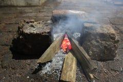 Του χωριού γεύμα με το πραγματικό γούστο στοκ εικόνες με δικαίωμα ελεύθερης χρήσης
