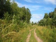 Του χωριού δρόμος Στοκ φωτογραφία με δικαίωμα ελεύθερης χρήσης