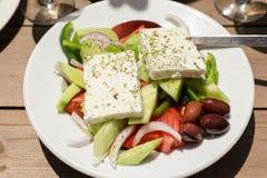 Του χωριού ελληνική σαλάτα Στοκ Εικόνες