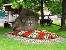 Του χωριού θέση σε μια μικρή πόλη Στοκ φωτογραφίες με δικαίωμα ελεύθερης χρήσης