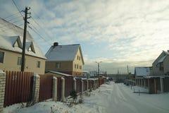 Του χωριού οδός Στοκ εικόνα με δικαίωμα ελεύθερης χρήσης