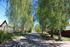Του χωριού οδός Στοκ Εικόνες