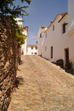 Του χωριού οδός Monsaraz, Πορτογαλία Στοκ φωτογραφία με δικαίωμα ελεύθερης χρήσης