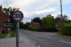 Του χωριού σημάδια Στοκ εικόνες με δικαίωμα ελεύθερης χρήσης