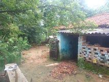 Του χωριού σπίτι Ινδία στοκ φωτογραφία με δικαίωμα ελεύθερης χρήσης