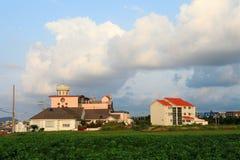 Του χωριού τοπίο της Νότιας Κορέας στοκ εικόνα