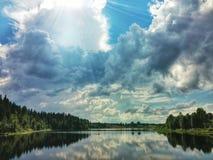 Του χωριού τοπίο Στοκ Φωτογραφίες