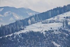 του χωριού vladimir χειμώνας της Ρωσίας περιοχών kozlovo Στοκ Εικόνα