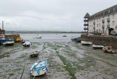 του χωριού youghol λιμενικής χαμηλό παλίρροιας Στοκ εικόνες με δικαίωμα ελεύθερης χρήσης