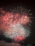 Τουλόν (Γαλλία): πυροτεχνήματα Στοκ Φωτογραφία