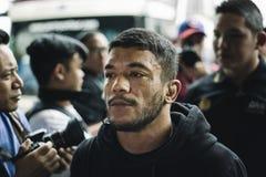 Του Alex Silva Brasilian Jiu-Jitsu μαχητής ένα πρωτάθλημα strawweight Στοκ Εικόνες
