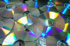 Του CD δίσκοι DVD Στοκ Φωτογραφίες