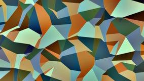 Του Erich το //4k 60fps οργανικός γεωμετρικός βρόχος υποβάθρου σχεδίων τηλεοπτικός ελεύθερη απεικόνιση δικαιώματος