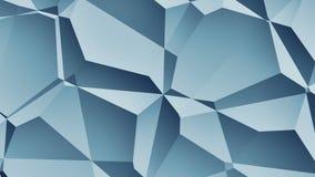 Του Nicolai το //4k 60fps μπλε γεωμετρικός βρόχος υποβάθρου σχεδίων τηλεοπτικός απεικόνιση αποθεμάτων