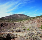 Του Rio Grande del Norte National μνημείο - Νέο Μεξικό Στοκ Εικόνες