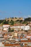 Του S. Jorge Castle Στοκ Φωτογραφία