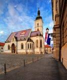 Του ST εκκλησία του σημαδιού Στοκ φωτογραφίες με δικαίωμα ελεύθερης χρήσης