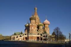 Του ST καθεδρικός ναός του βασιλικού στο κόκκινο τετράγωνο, Μόσχα Στοκ φωτογραφία με δικαίωμα ελεύθερης χρήσης
