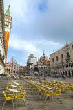 Του ST τετράγωνο του σημαδιού στη Βενετία, Ιταλία Στοκ Εικόνες