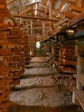 Τούβλα, εργοστάσιο τούβλου Στοκ Εικόνες