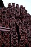 Τούβλα, που παρατάσσονται Στοκ Εικόνα