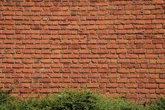 Τούβλινα σύσταση και υπόβαθρο τοίχων Στοκ φωτογραφία με δικαίωμα ελεύθερης χρήσης