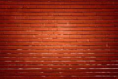 Τούβλινος τοίχος με το κυριώτερο σημείο Στοκ Φωτογραφία