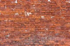 τούβλου τοίχος που ξεπ&eps Στοκ φωτογραφία με δικαίωμα ελεύθερης χρήσης