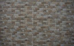 Τούβλο βράχου φύσης για τη διακόσμηση τοίχων Στοκ Εικόνες