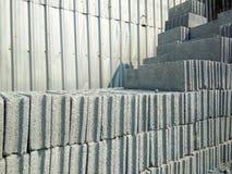 Τούβλο για την οικοδόμηση σε ένα κατάστημα οικοδομικού υλικού Δομικά υλικά Στοκ Εικόνες