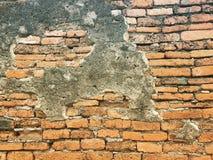 Τούβλο στο ayutthaya στοκ φωτογραφία