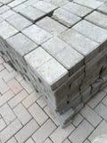 τούβλα γκρίζα Στοκ Φωτογραφίες