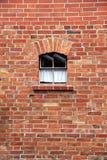 Τούβλα και παράθυρο Στοκ Εικόνες