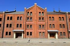 Τούβλινη αποθήκη εμπορευμάτων Στοκ εικόνες με δικαίωμα ελεύθερης χρήσης