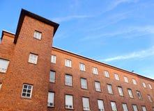 Τούβλινη αποθήκη εμπορευμάτων Στοκ Εικόνες