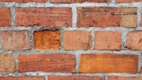 Τούβλινος τοίχος στοκ εικόνα με δικαίωμα ελεύθερης χρήσης