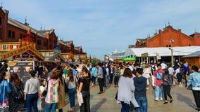 Τούβλινο γεγονός αποθηκών εμπορευμάτων Yokohama Στοκ Εικόνα