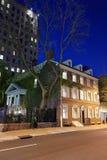 Τούβλινο κτήριο στην παλαιά πόλη στη Φιλαδέλφεια PA Στοκ φωτογραφία με δικαίωμα ελεύθερης χρήσης