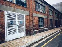 Τούβλινο κτήριο Στοκ εικόνες με δικαίωμα ελεύθερης χρήσης