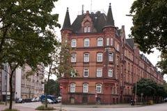 Τούβλινο σπίτι Αμβούργο Στοκ Εικόνα