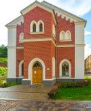 Τούβλινο σπίτι Στοκ φωτογραφίες με δικαίωμα ελεύθερης χρήσης