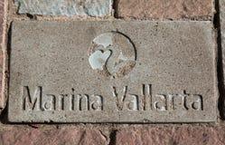 Τούβλο Vallarta μαρινών Στοκ φωτογραφία με δικαίωμα ελεύθερης χρήσης