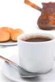 Τούρκος καφέ προγευμάτων Στοκ Εικόνα