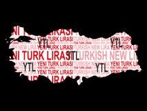 Τούρκος νομίσματος Στοκ φωτογραφία με δικαίωμα ελεύθερης χρήσης