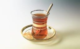 Τούρκος τσαγιού φλυτζα&n στοκ εικόνες