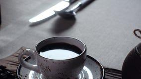 Τούρκος φλυτζανιών καφέ παραδοσιακός Τούρκος κ&a φιλμ μικρού μήκους