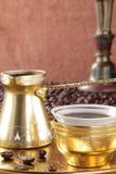 Τούρκος φλυτζανιών καφέ Στοκ Εικόνες