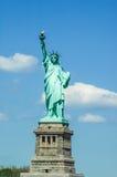 Το άγαλμα της ελευθερίας στην πόλη της Νέας Υόρκης, Αμερική Στοκ εικόνα με δικαίωμα ελεύθερης χρήσης