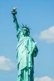 Το άγαλμα της ελευθερίας στην πόλη της Νέας Υόρκης, Αμερική Στοκ Εικόνα