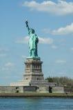 Το άγαλμα της ελευθερίας στην πόλη της Νέας Υόρκης, Αμερική Στοκ Φωτογραφίες